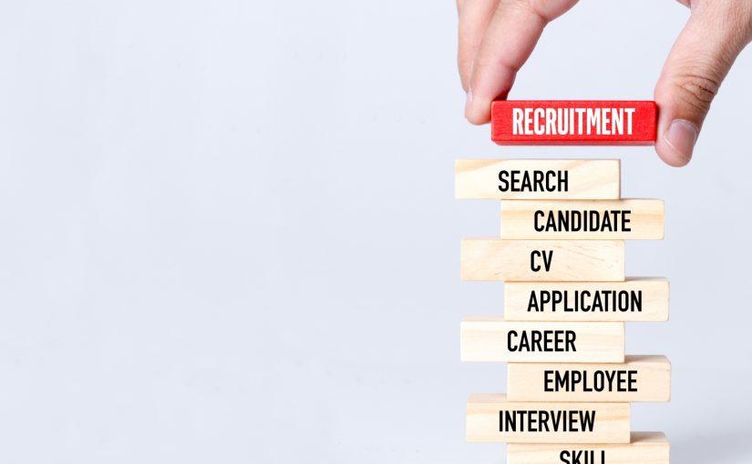 piramida z etapami rekrutacji